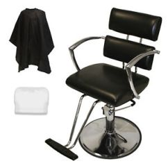 Beauty Salon Chairs Images Ergonomic Chair In Bangalore Chrome Arms Professional Hydraulic Barber Styling Image Is Loading