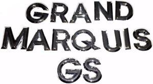 03 04 05 06 07 08 09 10 11 Mercury Grand Marquis GS—Rear