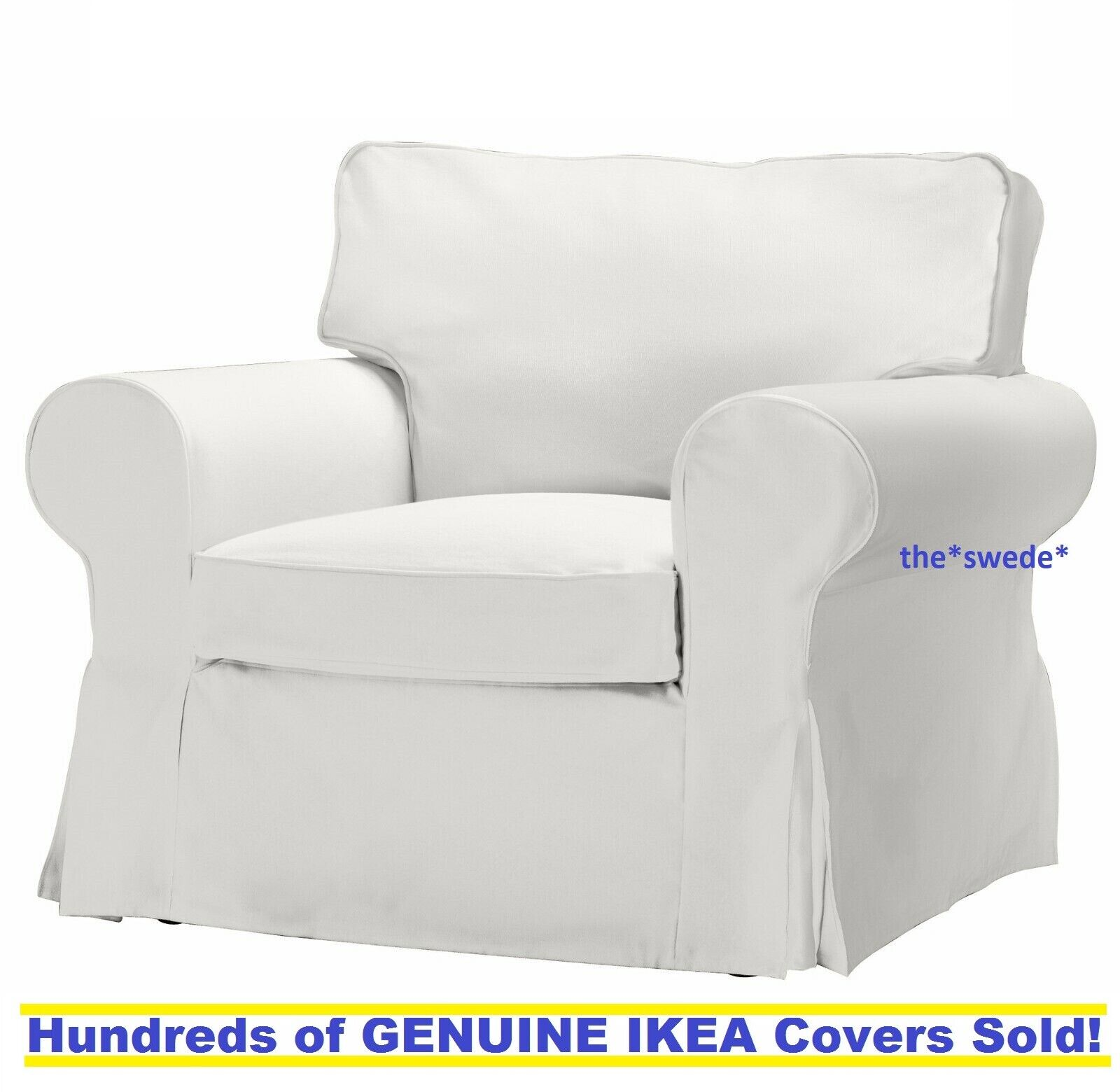 Slip Cover For Chair Ikea Ektorp Vittaryd White Chair Armchair Slipcover Cover Only