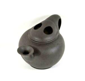 Authentic Chinese Yixing Zisha Brown Clay Handmade Exquisite Teapot