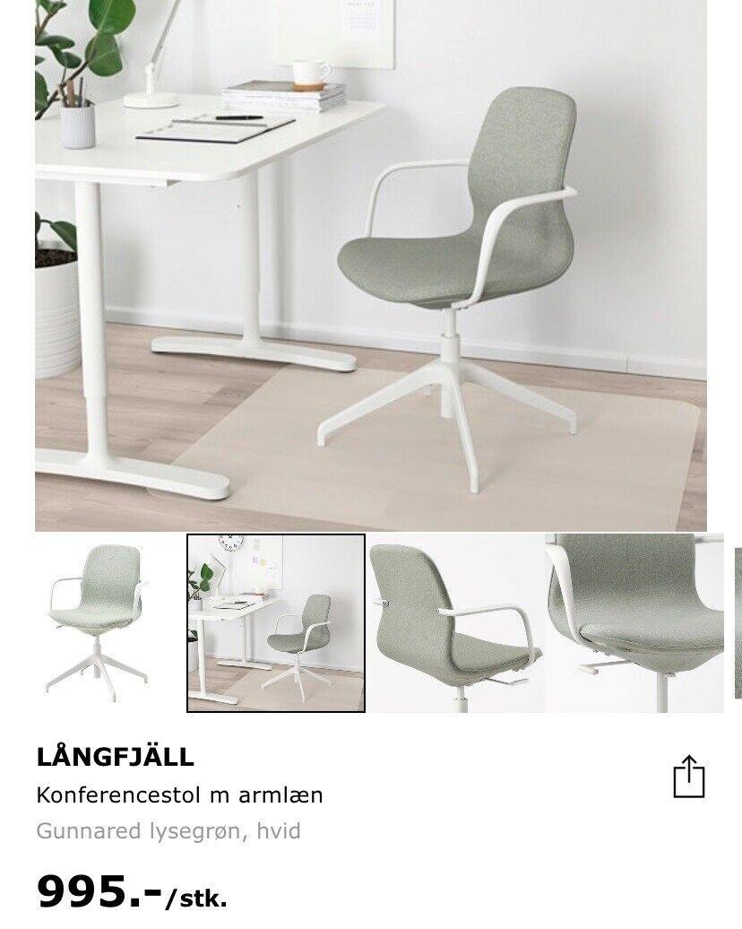 Kontorstol Ikea Langfjall Dba Dk Kob Og Salg Af Nyt Og Brugt