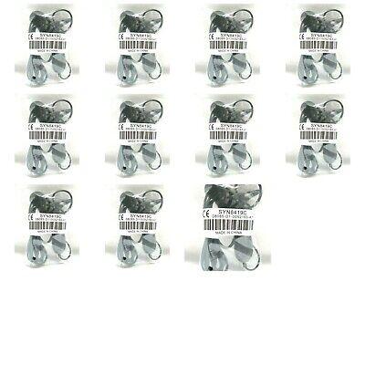 Lot of 11 Motorola SYN8419C Hands Free Mono Headset 2.5mm