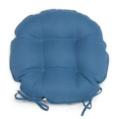 16 Round Bistro Chair Cushions Zora Swivel Set Of 2 Outdoor W Ties Solid Image Is Loading 034