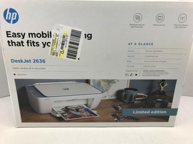 HP Deskjet 2636 Wireless All-in-one Color Inkjet Printer Gelato for sale online   eBay