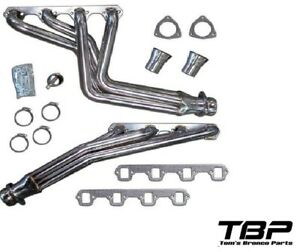 1966-1977 Early Bronco Stainless Steel Long Tube Headers