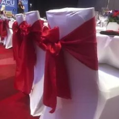 Couture Chair Covers And Events Patio Cushion Replacements Lycra Sashes Diy Hire Or Installation Party