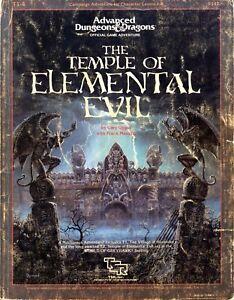 Temple Of Elemental Evil Map : temple, elemental, Adventure, Modules, RETURN, TEMPLE, ELEMENTAL, Hobbies, Goothai.com