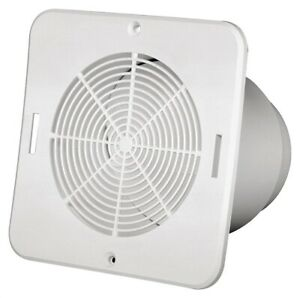 details about new duraflo 646015 bathroom soffit exhaust vent white 4 or 5 4859328
