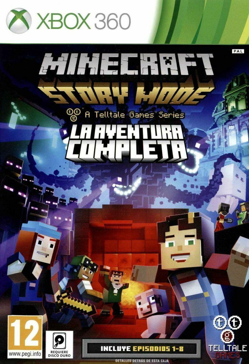 Minecraft Adventure Maps Xbox360 : minecraft, adventure, xbox360, Telltale, Games, Minecraft, Story, Complete, Adventure, Online