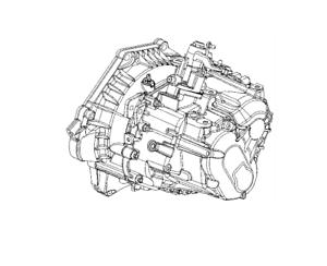 6-Gear Manual Transmission INSIGNIA a 2.0 Turbo FWD GM