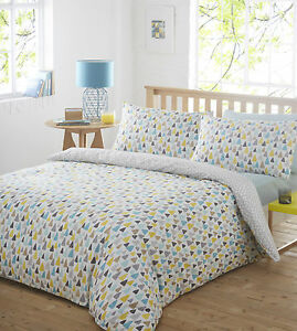 Image Is Loading Rain Drops Duvet Bedding Quilt Cover Pillowcase Bed