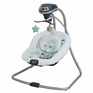swing chair baby best cheap office bouncer graco electric vibration for infants image is loading