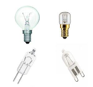 details sur ampoule de four ses g9 g4 capsules 10w 15w 20w 25w 40w jusqu a 300 degres