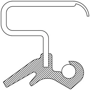 Manual Trans Main Shaft Seal fits 1988-1995 GMC C1500