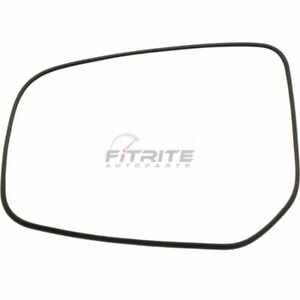 NEW LEFT SIDE MIRROR GLASS NON HEATED FOR 2014-2017