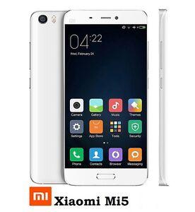Xiaomi Mi5 4G LTE 3GB 64GB Android 7 Snapdragon 820 Unlocked Smartphone Phone