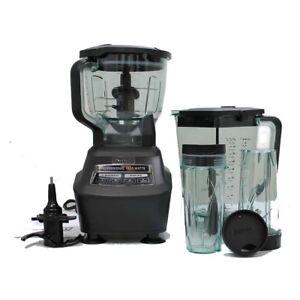 ninja mega kitchen 1500 retro set system blender food processor mixer refurbished image is loading