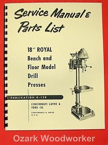 Drill Press Maintenance Schedule
