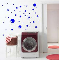 Bubble Decal Removable Bubble Wall Stickers Bath Decal ...