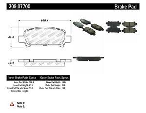 StopTech Disc Ultra-Premium Brake Pad Set for 1998-2003