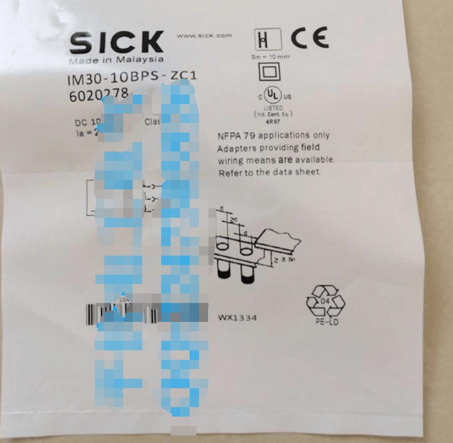 hight resolution of sick sensor wiring diagram