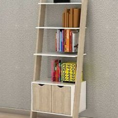 Bookcase Cabinets Living Room Sectional Couch Ideas Modern Wall Shelves Large Cabinet Ladder Storage Unit Image Is Loading
