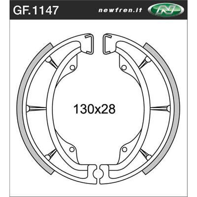 Front Brake Shoes Fit SUZUKI GN250 1990 1991 1992 1993