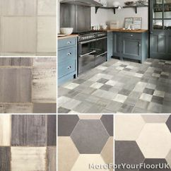 Kitchen Vinyl Flooring Honey Oak Cabinets Tile 2 8mm Thick Stone Style Rustic Lino Image Is Loading