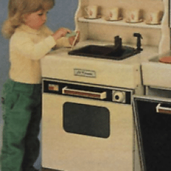 Sears Kitchen Average Cost To Remodel A 1986 Vintage New Lil Kenmore Oven Sink Hutch In Box Image Is Loading