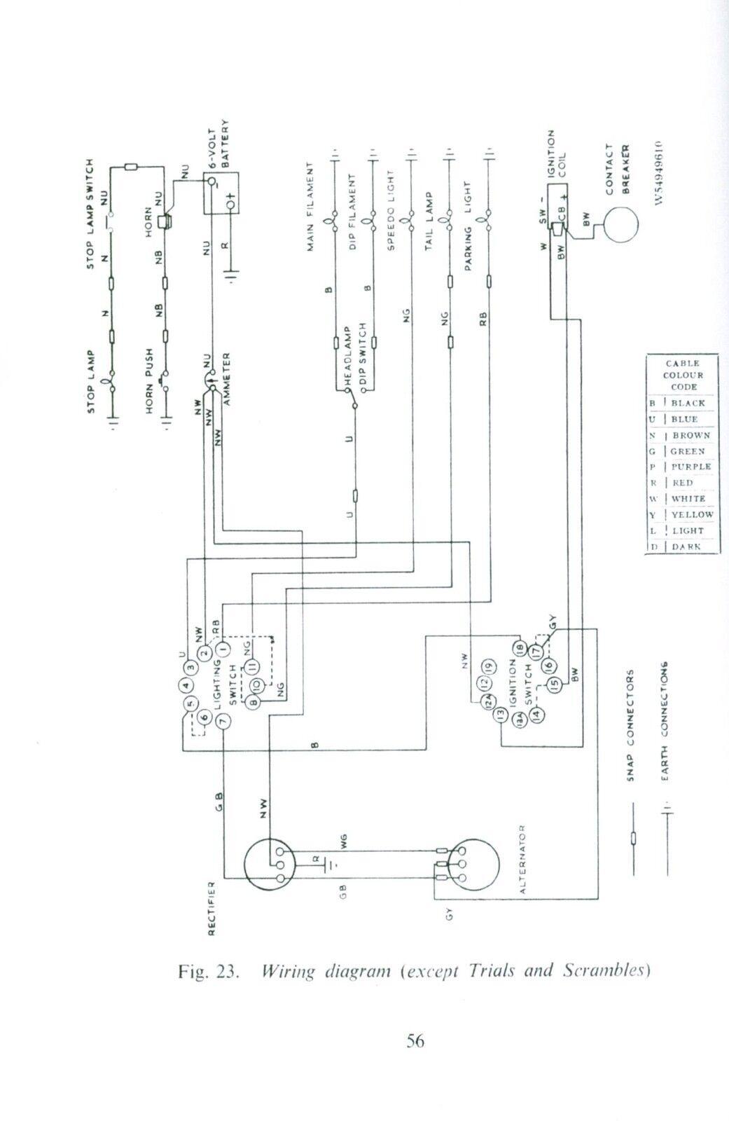 Bsa Wiring Schematic