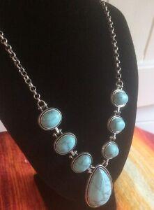 Precious New Look : precious, Turquoise, Necklace, Precious, Stone, Ethnic, Natural