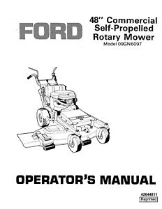 NEW HOLLAND Ford SE4505 48 Inch Sp Rotary Mower 1986