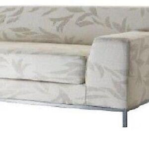 one arm sofa slipcover billige sofaborde i morkt trae ikea kramfors right love seat natural kvilla image is loading