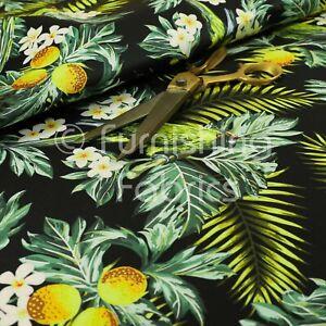 details sur noir jungle life oiseaux motif velours velours imprime ameublement rideau tissus afficher le titre d origine