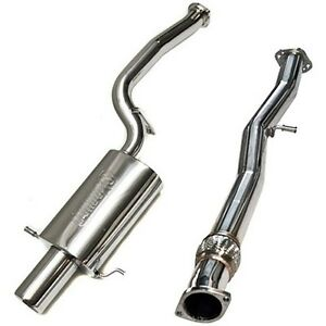 details about turbo xs catback exhaust system for subaru forester xt 2002 2008 fxt04 cbe