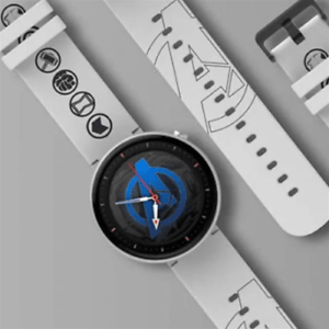Amazfit Nexo - smartwatch with GPS, HR, notifications, eSIM (white) LIMITED ED.