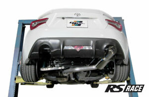 details zu greddy rs race 3 cat back single exit exhaust for 17 20 brz gt86 86 zn6