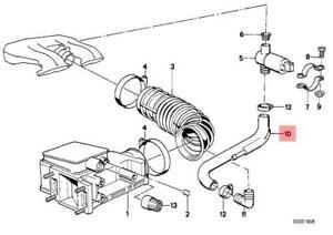 Genuine BMW E30 E34 Convertible Volume Air Flow Sensor
