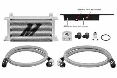 MISHIMOTO Oil Cooler Kit Silver for 03-09 Nissan 350Z/03