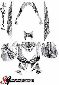*NEW* SLED GRAPHIC KIT GRAPHICS WRAP FOR SKI-DOO REV XM