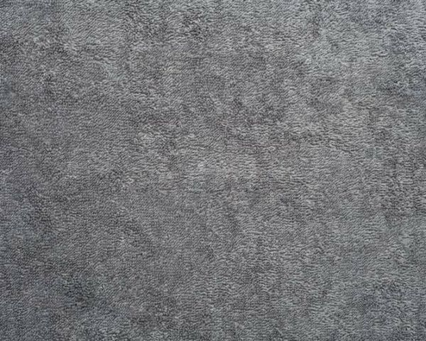 """Charcoal Terry Cloth Cotton Fabric - 58"""" Wide Style"""