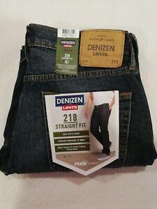 Levis Denizen 218 Straight Fit : levis, denizen, straight, Denizen, Levi's, Men's, Straight, Fabric, Jeans, Size30x30