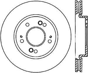 C-TEK Standard Disc Brake Rotor fits 2004-2008 Mitsubishi