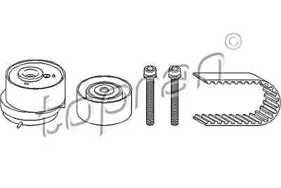 Timing Belt Kit For OPEL VAUXHALL Astra G H GTC Twintop