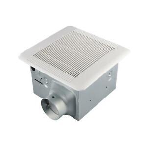 details about hampton bay 110 cfm ceiling mount quick connect bathroom exhaust fan energy st