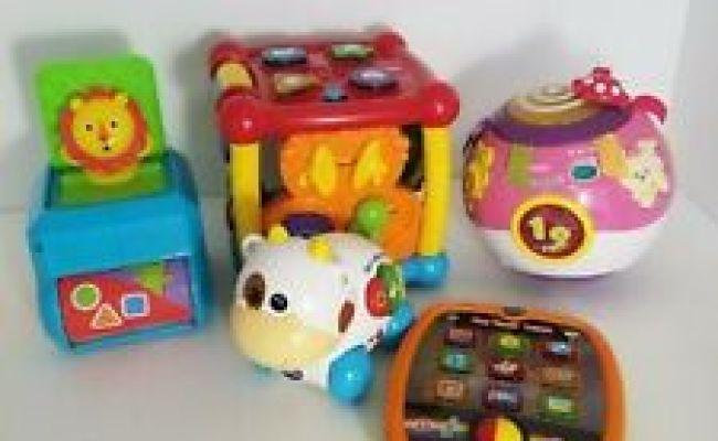 Lot Of 5 Educational Developmental Baby Toddler Toys