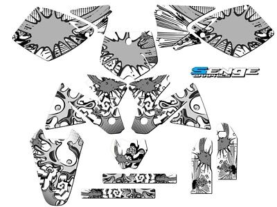 1998 1999 2000 KTM SX 125 250 380 400 520 GRAPHICS KIT