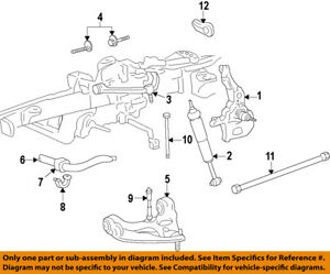 1996 ford ranger front suspension diagram jvc car radio stereo audio wiring oem 98 11 stabilizer sway bar stud bushing image is loading