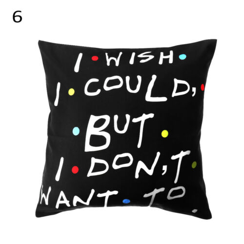 mobel wohnen home decor sofa friends tv show pillow covers pillow cases cushion cover dekoration