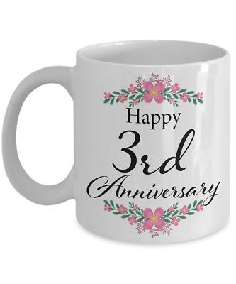 Happy 3rd Anniversary : happy, anniversary, Happy, Anniversary, Wedding, Gifts, Unique, Romantic, Present